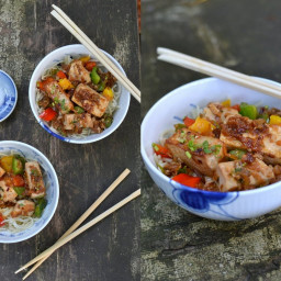 Chinese Make-away: Tofu in Spicy Oyster Sauce