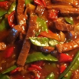 Chinese Pepper Round Steak