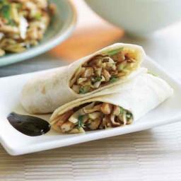 Chinese Pork and Mushroom Wraps