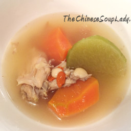 Chinese Radish and Chicken Soup
