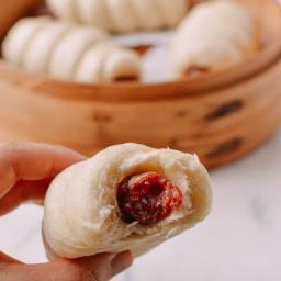 Chinese Sausage Buns (Lop Cheung Bao)