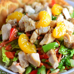 Chinese Sesame Chicken Salad