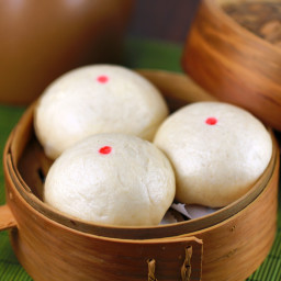 Chinese Steamed Custard Bun Recipe