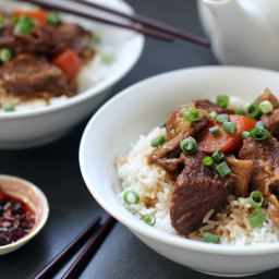 Chinese Style Braised Beef