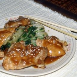 Chinese Style Chicken Thighs
