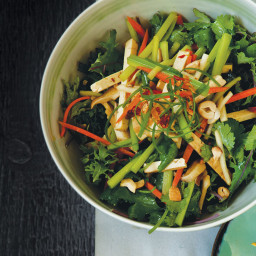 Chinese-Style Shredded Vegetable and Tofu Salad