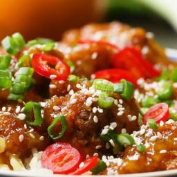 Chinese Takeaway-style Orange Chicken Recipe by Tasty