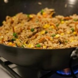 "Chinese Chicken Fried ""Rice"""