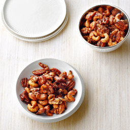 Chipotle and Rosemary Roasted Nuts