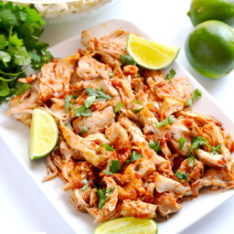 Chipotle Chicken (Instant Pot, Slow Cooker and Stovetop)