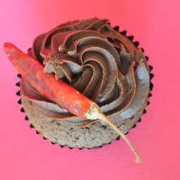 Chipotle Chocolate Cupcakes