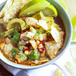 Chipotle Lime Chicken Soup