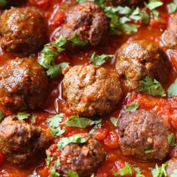 Chipotle Meatballs