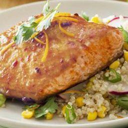 Chipotle-Orange-Glazed Salmon Recipe