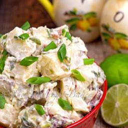 Chipotle Scallion Potato Salad