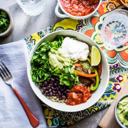 Chipotle Veggie Bowl + How to Build Your Own Veggie Bowl Creations