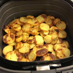 Chips di patate friggitrice ad aria ricetta base (@Studentiaifornelli)