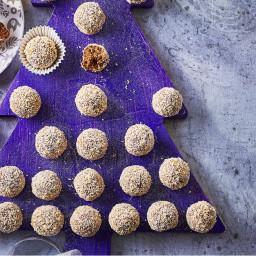 Choc mint truffles