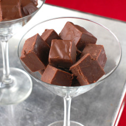Chocolate Amaretto Fudge