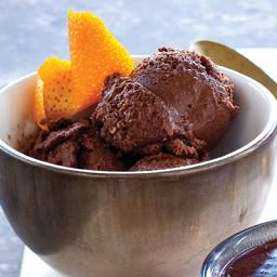 Chocolate and Cacao Nib Gelato
