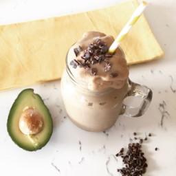 Chocolate Avocado Power Smoothie