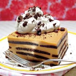 Chocolate-Bourbon-Butterscotch Icebox Cake
