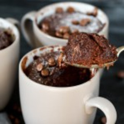 Chocolate Caramel Mug Cake - The Perfect Dessert For One