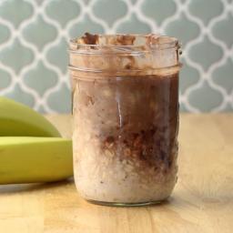 Chocolate Chip Banana Bread Overnight Oats Recipe by Tasty
