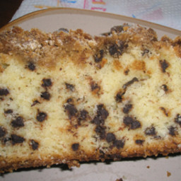 Chocolate Chip  Cake--buttery