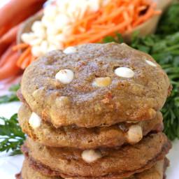 Chocolate Chip Carrot Cake Cookies