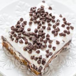 Chocolate Chip Cookie Chocolate Lasagna