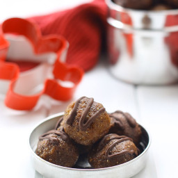 Chocolate Chip Gingerbread Energy Balls