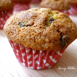 Chocolate Chip Pumpkin Walnut Muffins