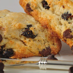 Chocolate Chip Scones Recipe and Video