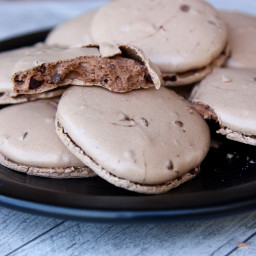 Chocolate Chocolate-Chip Meringues