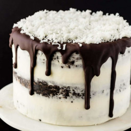 Chocolate Coconut Cake