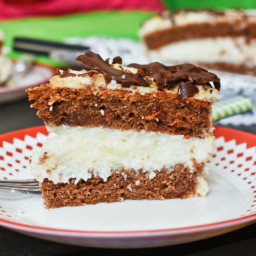 Chocolate coconut cake – Mounds cake