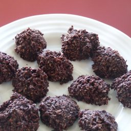 Chocolate Coconut Macaroons - Raw Food Diet