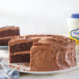 Chocolate Coffee Mayo Cake