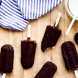 Chocolate-Covered Ice Cream Bars | Vegan, Paleo, Gluten-Free