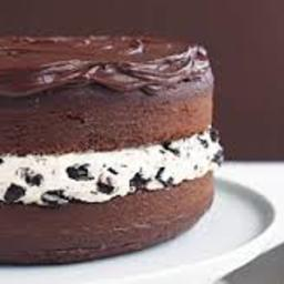 Chocolate-covered Oreo Cookie Cake