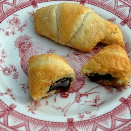Chocolate Crescent Rolls