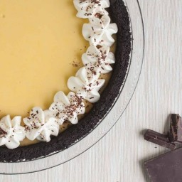Chocolate-Crusted Key Lime Pie