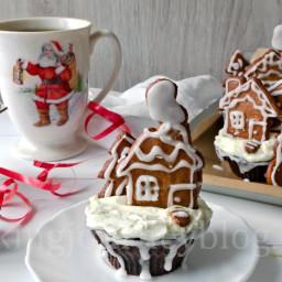 Chocolate Cupcake Recipe - Gingerbread cupcakes