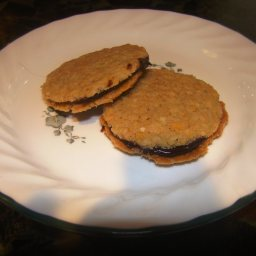 Chocolate Filled Coconut Wafers