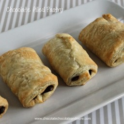 Chocolate filled Pastry