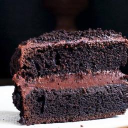 Chocolate Fudge Blackout Cake
