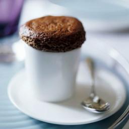 Chocolate Ganache Souffles