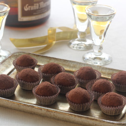 Chocolate-Grand Marnier Truffles