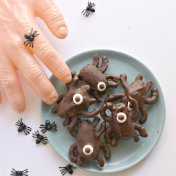 Chocolate Halloween Spiders